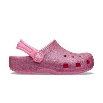 Crocs CLASSIC GLITTER CLOG, dječije natikače, roza