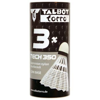 Talbot Torro TECH 350 NY MED 3/1, loptica za badminton, bijela
