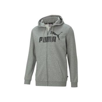 Puma ESS BIG LOGO FZ HOODIE TR, muška jakna, siva