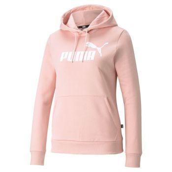 Puma ESS LOGO HOODIE TR (S), ženski pulover, roza