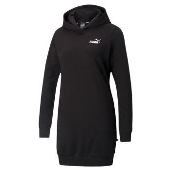 Puma ESS HOODED DRESS TR, ženska odjeća, crna