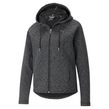 Puma EVOSTRIPE FULL-ZIP HOODIE, ženska jakna, crna