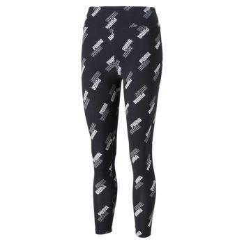 Puma POWER AOP HIGH WAIST 7/8 LEGGINGS, ženske 7/8 hlače, crna