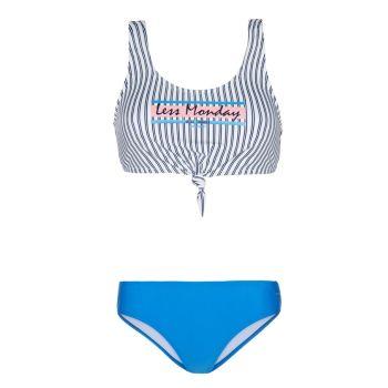 Protest WAFFLE, ženski kupaći, plava
