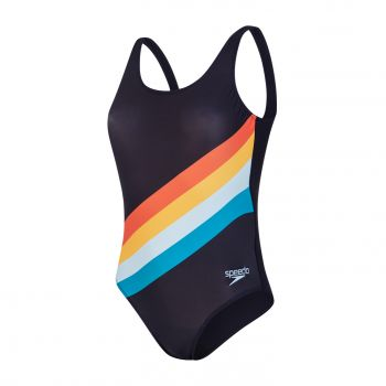Speedo PLMT U-BK 1PC AF, ženski kupaći kostim jednodjelni, multikolor