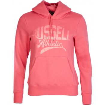 Russell Athletic EBV - HOODY SWEAT, ženski pulover, roza