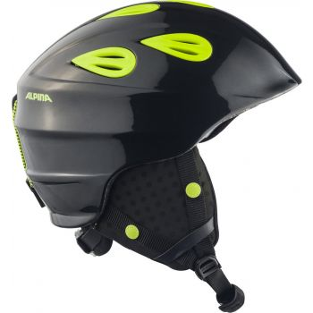 Alpina GRAP 2.0 JUNIOR, dječija ski kaciga, crna