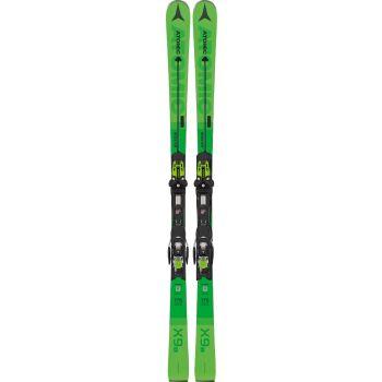 Atomic REDSTER X9 S + X12 TL GW, set skija allround, zelena