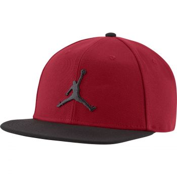 Nike JORDAN PRO JUMPMAN SNAPBACK HAT, kačket, crvena