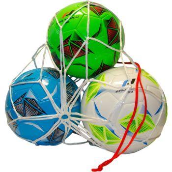 Pro Touch BALL NET 3 BALLS, nogometni dodaci, bijela