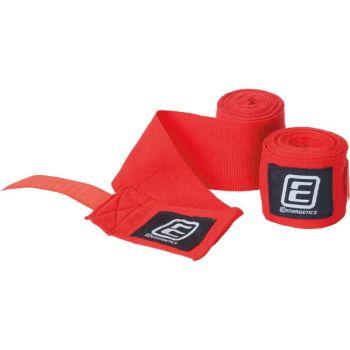 Energetics BOXBANDAGE ELASTIC TN, bandažer za boks, crvena