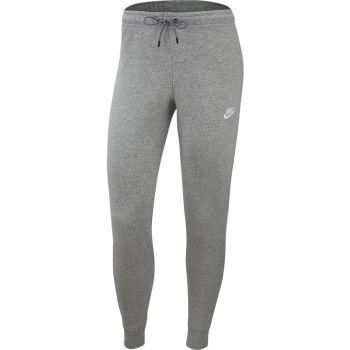 Nike SPORTSWEAR ESSENTIAL MID-RISE FLEECE PANTS, ženske helanke, bijela