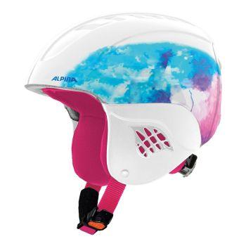 Alpina CARAT, dječija ski kaciga, ljubičasta