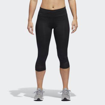 adidas HOW WE DO 3/4 W, ženske helanke za trčanje, crna