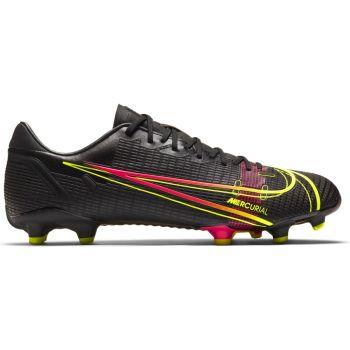 Nike VAPOR 14 ACADEMY FG/MG, muške kopačke za nogomet, crna