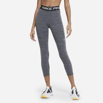 Nike PRO 365 WO CROPPED LEGGINGS, ženske 7/8 hlače za fitnes, siva
