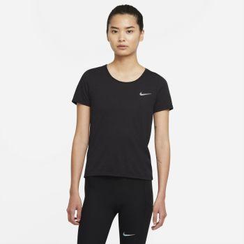 Nike DRI-FIT RUN DIVISION SHORT-SLEEVE RUNNING TOP, ženska majica za trčanje, crna