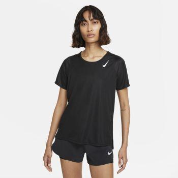 Nike DRI-FIT RACE SS RUNNING TOP, ženska majica za trčanje, crna