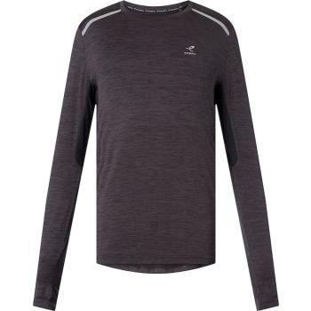 Energetics AIMO II UX, muška majica za trčanje, crna