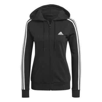 adidas W 3S FT FZ HD, ženska jakna, crna