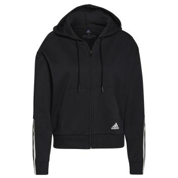 adidas W DK FZ HD, ženski pulover, crna