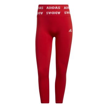 adidas AEROKNIT 78 T, ženske 7/8 hlače za fitnes, crvena