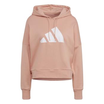 adidas W FI 3B HOODIE, ženski pulover, roza