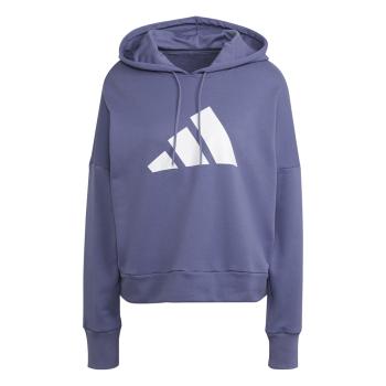 adidas W FI 3B HOODIE, ženski pulover, ljubičasta