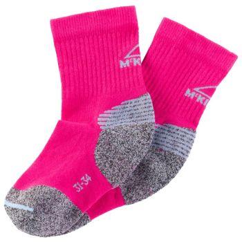 McKinley HIKORY JRS, dječije planinarske čarape, roza
