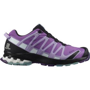 Salomon XA PRO 3D V8 GTX W, ženske patike za trail trčanje, ljubičasta