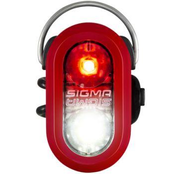 Sigma MICRO DUO SAFETY LIGHT, svjetlo za bicikl, crvena