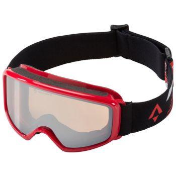 Tecnopro PULSE S PLUS, dječije skijaške naočale, crvena