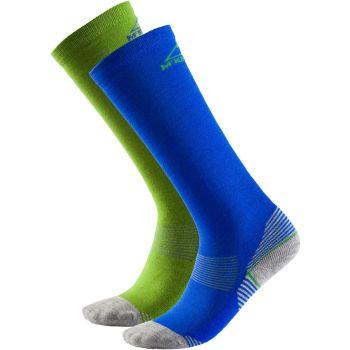 McKinley ROB JRS 2-PACK MCK, dječije skijaške čarape, plava