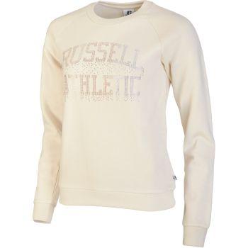 Russell Athletic CREWNECK RAGLAN SWEATSHIRT, ženski  pulover, bež