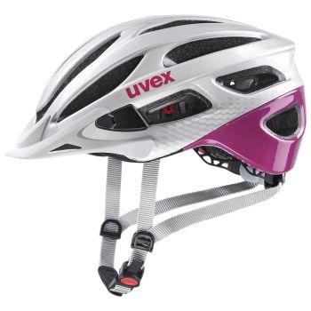 Uvex TRUE, biciklistička kaciga, srebrna