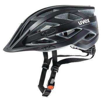 Uvex I-VO CC, biciklistička kaciga, crna