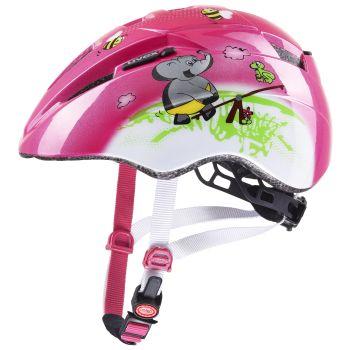 Uvex KID 2, dječija biciklistička kaciga, roza