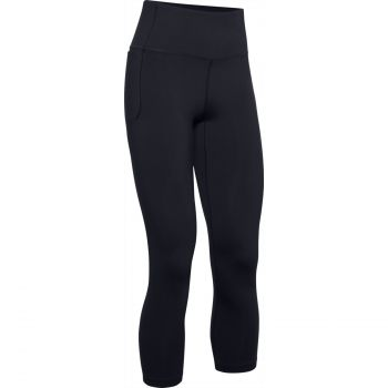 Under Armour MERIDIAN CROP, ženske 7/8 hlače za fitnes, crna