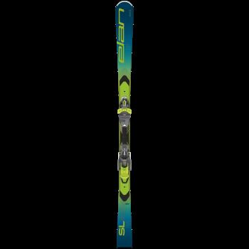 Elan SL FUSION X + EMX 11.0 GW FX, set skija allround, zelena