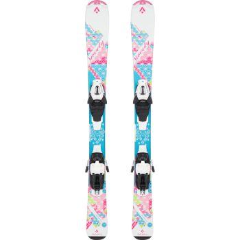 Tecnopro SWEETY JT, set skija dječiji, roza