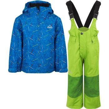McKinley TIMBER II KDS + RAY, dječiji skijaški komplet, plava