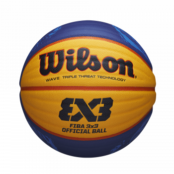 Wilson FIBA 3X3 OFFICIAL GAME BALL 2020 WT, košarkaška lopta, plava