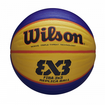 Wilson FIBA 3X3 REPLICA BALL 2020 WT, košarkaška lopta, plava