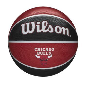 Wilson NBA TEAM TRIBUTE CHICAGO BULLS, košarkaška lopta, crvena