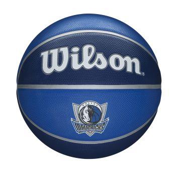 Wilson NBA TEAM TRIBUTE DALLAS MAVERICKS, košarkaška lopta, plava