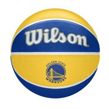 Wilson NBA TEAM TRIBUTE GOLDERN STATE WARRIORS, košarkaška lopta, žuta