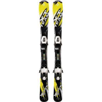 Tecnopro XT TEAM ET, set skija dječiji, žuta