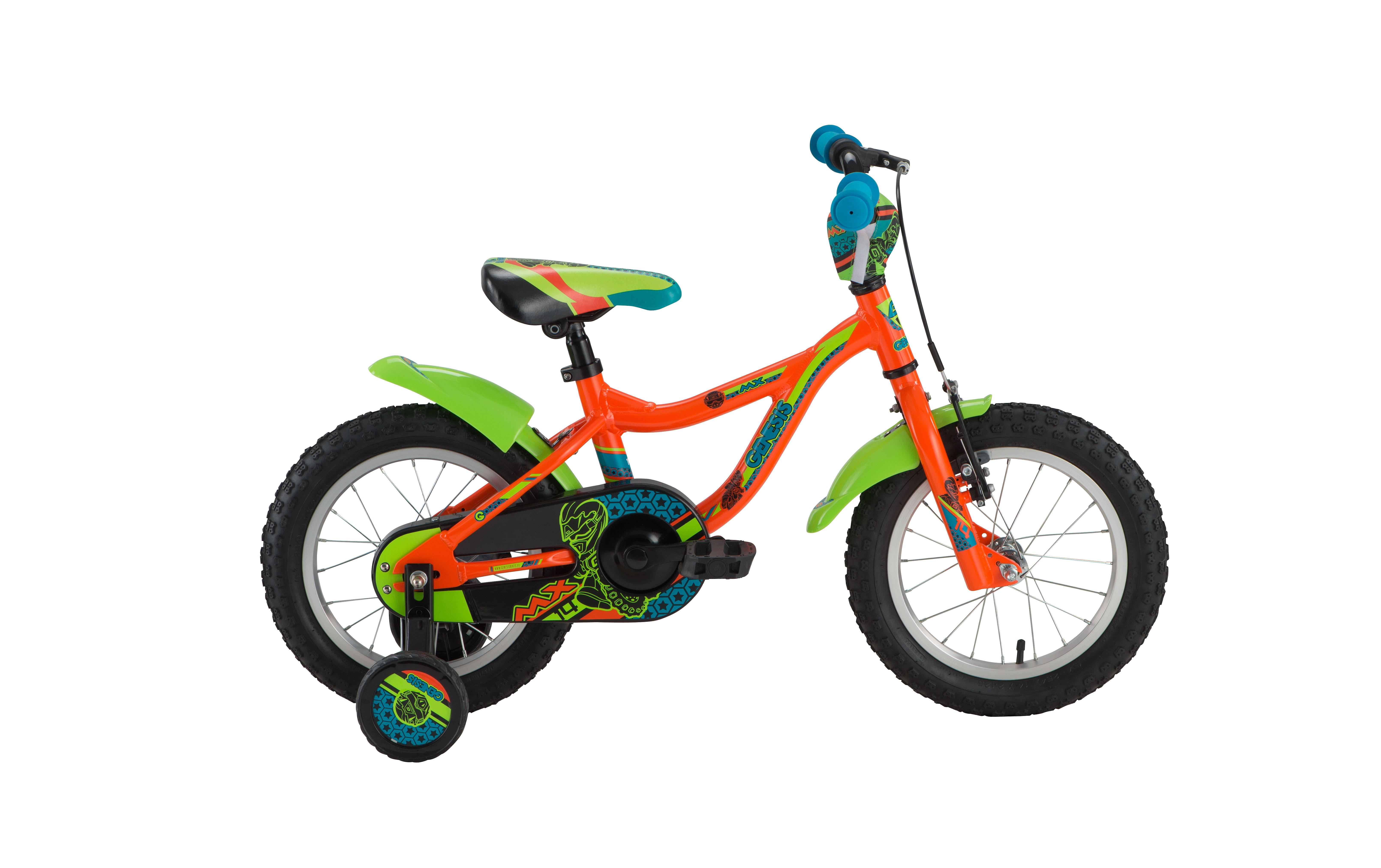 Genesis MX 14, dječiji mtb bicikl, narandžasta