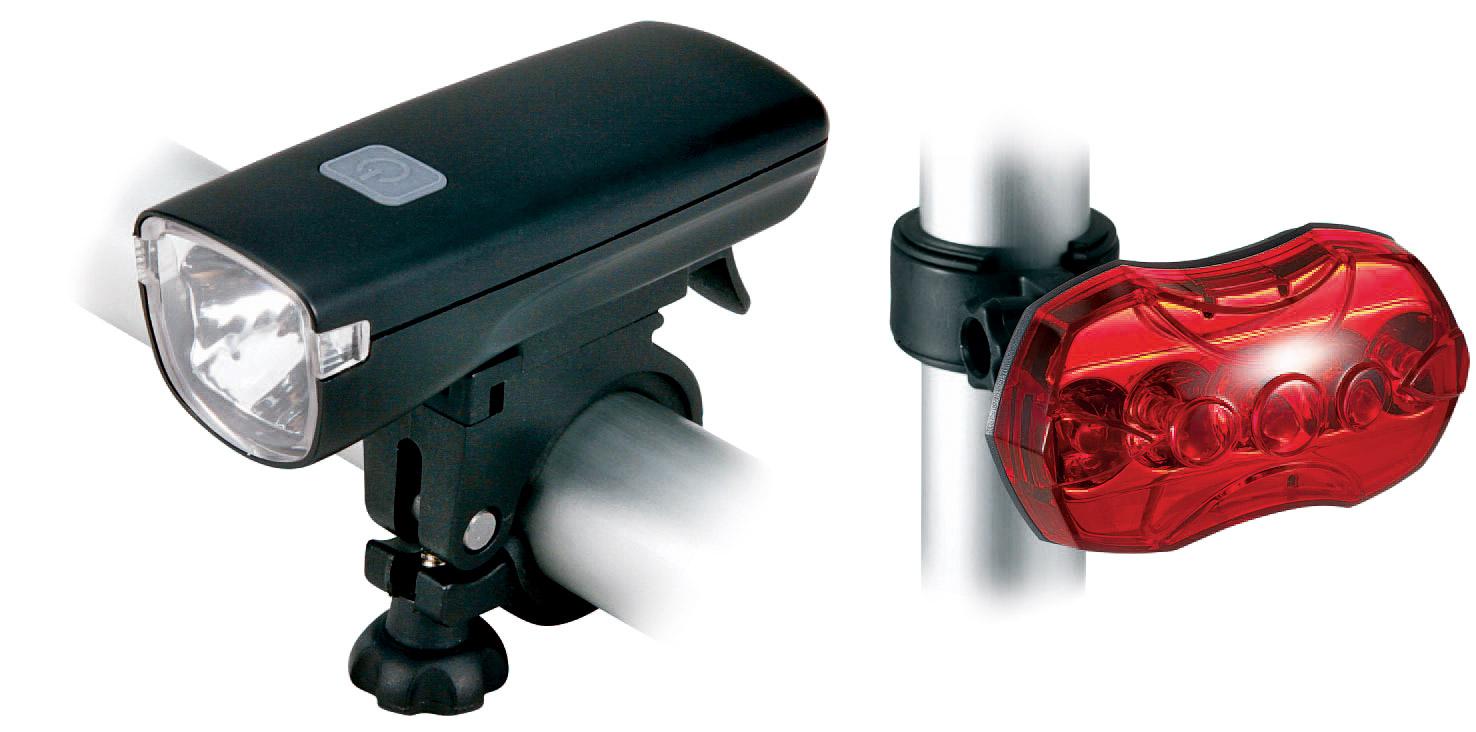 Cytec 1HP LED, svjetlo za bicikl, crna
