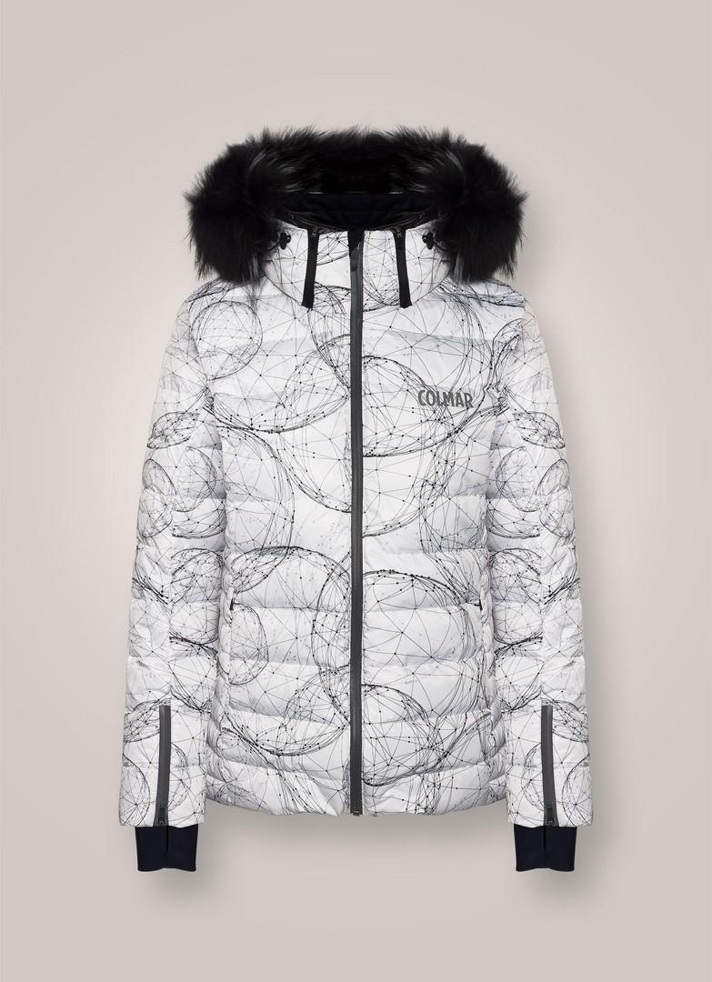 Colmar MD2835F8SW, ženska skijaška jakna, bijela